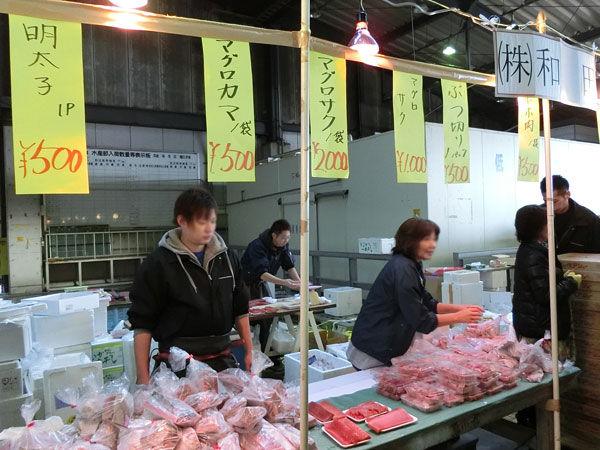 県南市場まつりの販売ブース