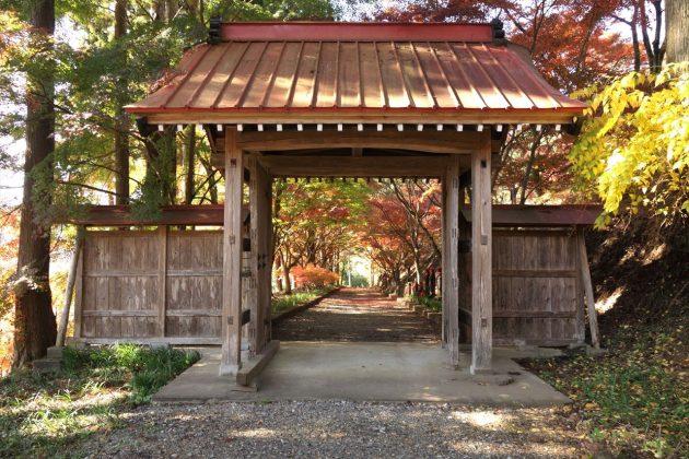 金蔵院の紅葉写真2