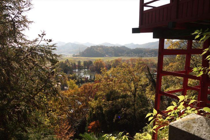 磯山弁財天の紅葉写真7