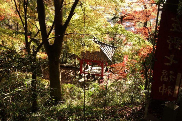 磯山弁財天の紅葉写真5