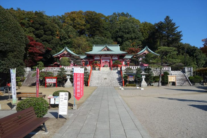 織姫神社の紅葉写真