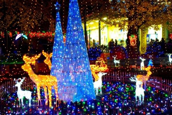 【栃木市】新大平駅東口で「光と音のページェント」が開催されます