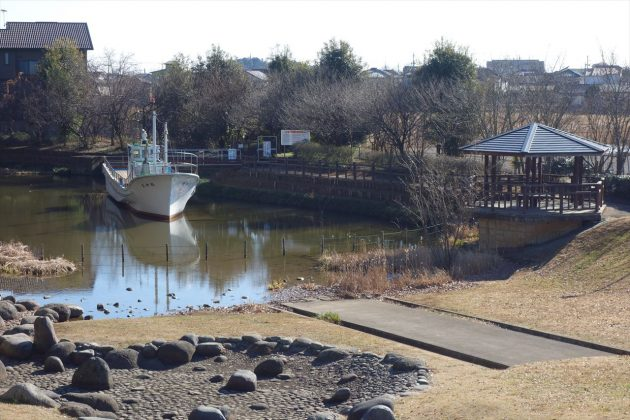 佐野市こどもの国の漁船