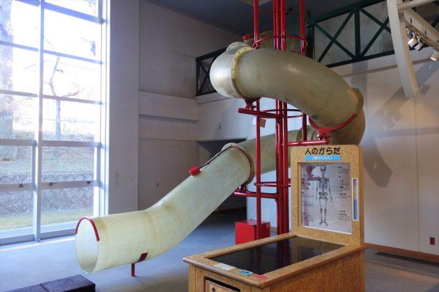 佐野市こどもの国のチューブ滑り台