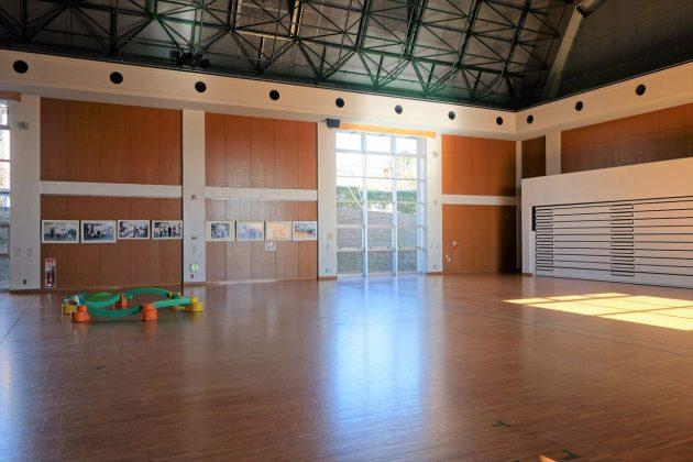 佐野市こどもの国の体育館