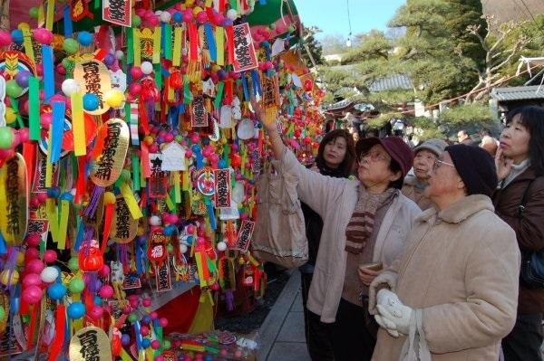 【足利市】徳正寺で繭玉市が1月13日に開催されます