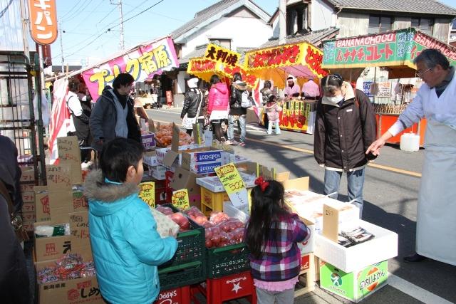 【栃木市】初市祭が開催されます
