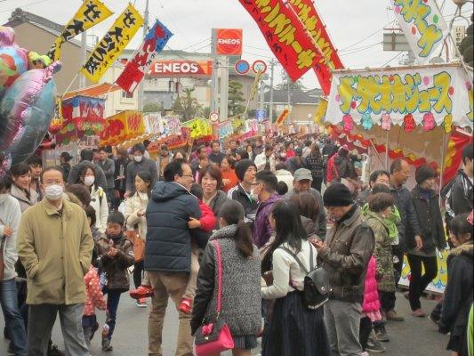 一瓶塚稲荷神社初午祭