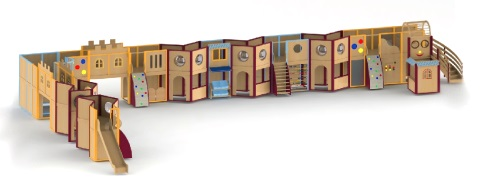 プレイハウスの全体図