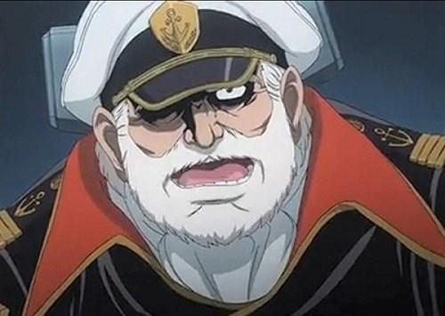 宇宙戦艦ヤマトの沖田十三艦長