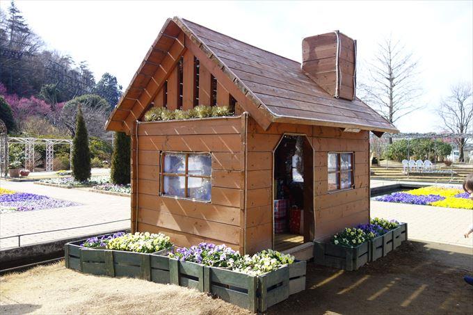北欧風のミニチュアハウス