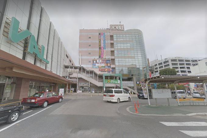 小山駅西口のおーバス停留所