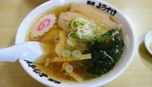 【食レポ】麺屋ようすけ|秘密のケンミンSHOWや鉄腕ダッシュで紹介された人気の佐野ラーメン店