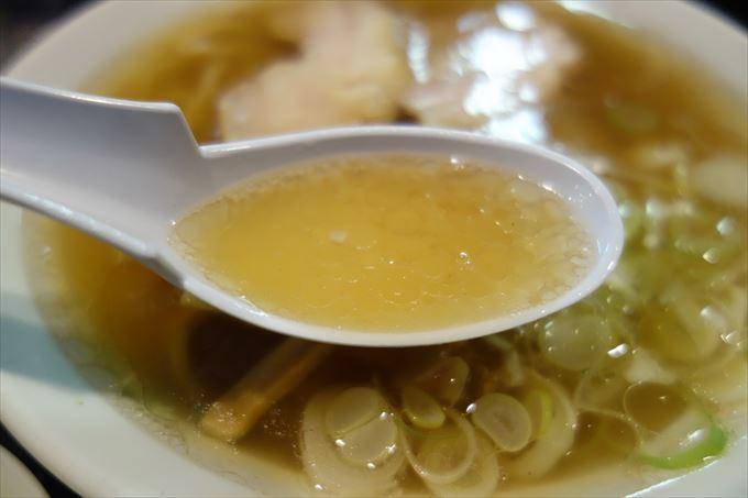 ラーメン大和のスープ