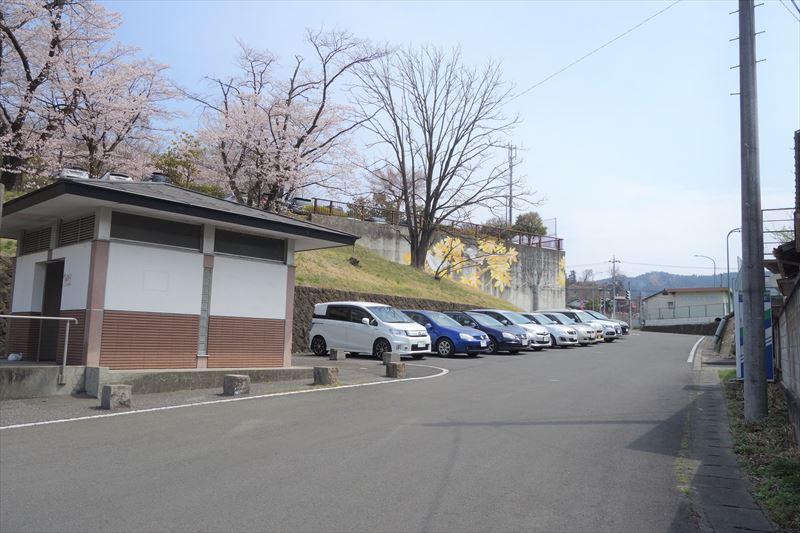 嘉多山公園の駐車場