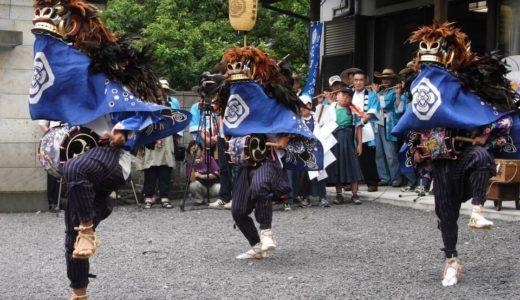 芦畦獅子舞(あしぐろししまい)とは?750年前から伝わる佐野市の民俗芸能を紹介