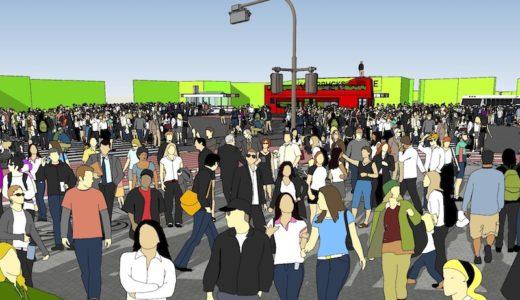 足利市に渋谷のスクランブル交差点が出現!映画のセットとして競馬場跡地に建設予定