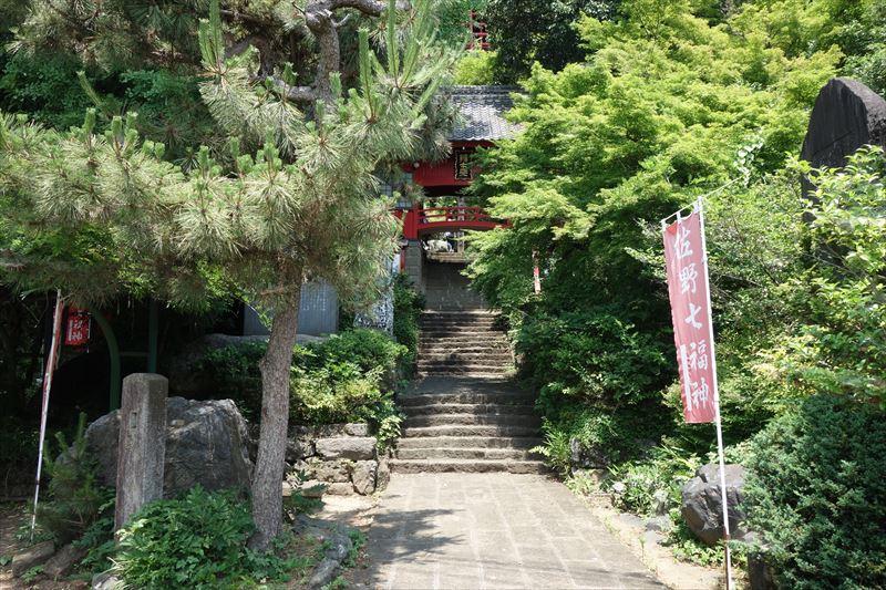 磯山弁財天の入口