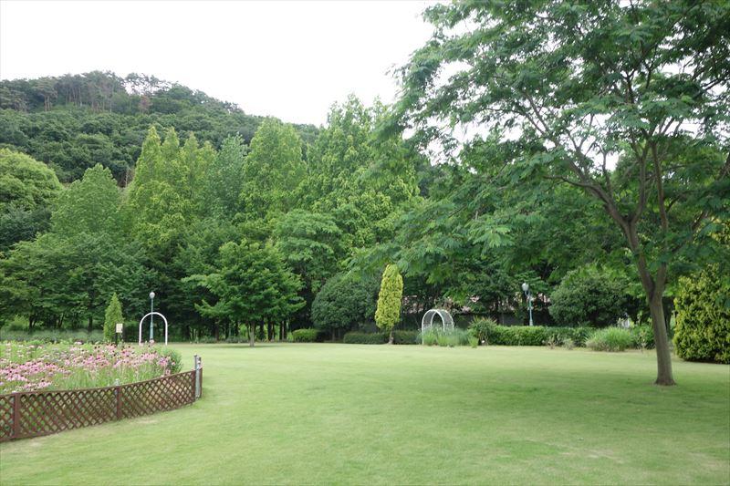 みかもハーブ園の芝生広場