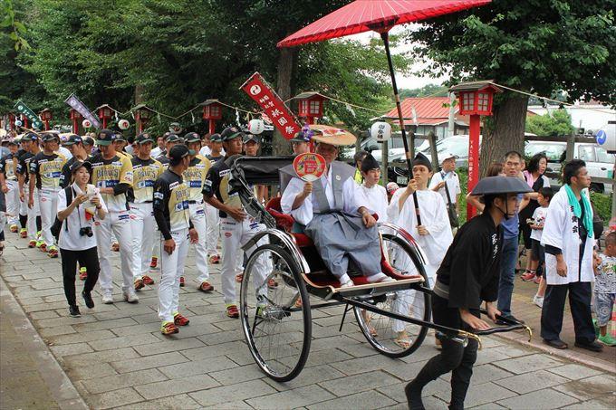 小山祇園祭の様子