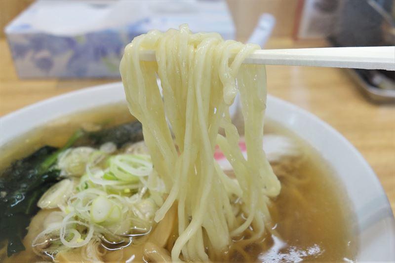 田村屋の麺