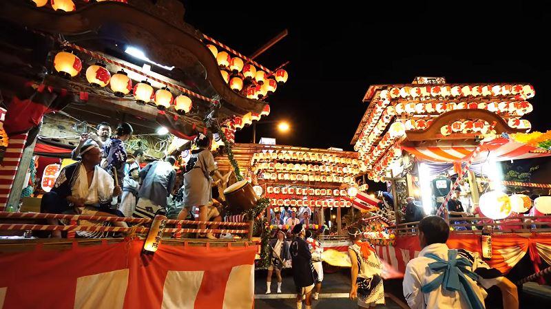 佐野市の八坂神社夏祭り