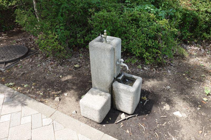 朱雀中央公園の水飲み場