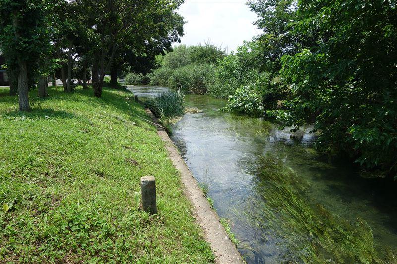 菊川第4公園の水遊び場