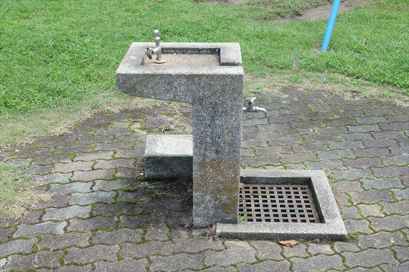 菊川第4公園の水飲み場