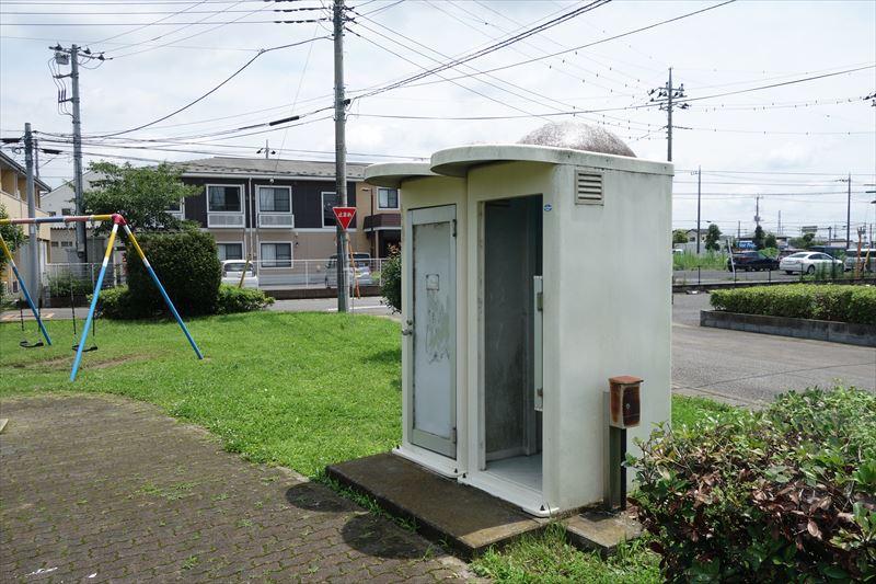 菊川第4公園のトイレ