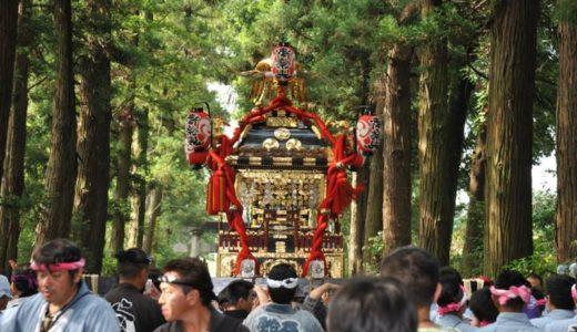 真岡市で開催される「久下田祇園祭」の開催日と内容、行った人の感想をチェック!