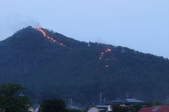 浅間の火祭り