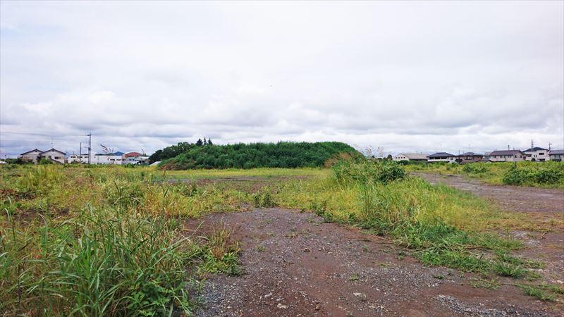 高萩中央公園の建設予定地の写真