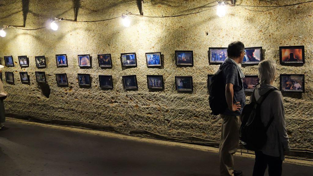 大谷資料館がロケ地になった映画等の写真