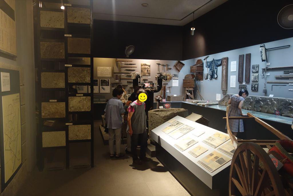 大谷資料館の展示室