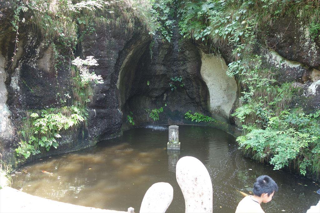 大谷資料館にある「愛の泉」