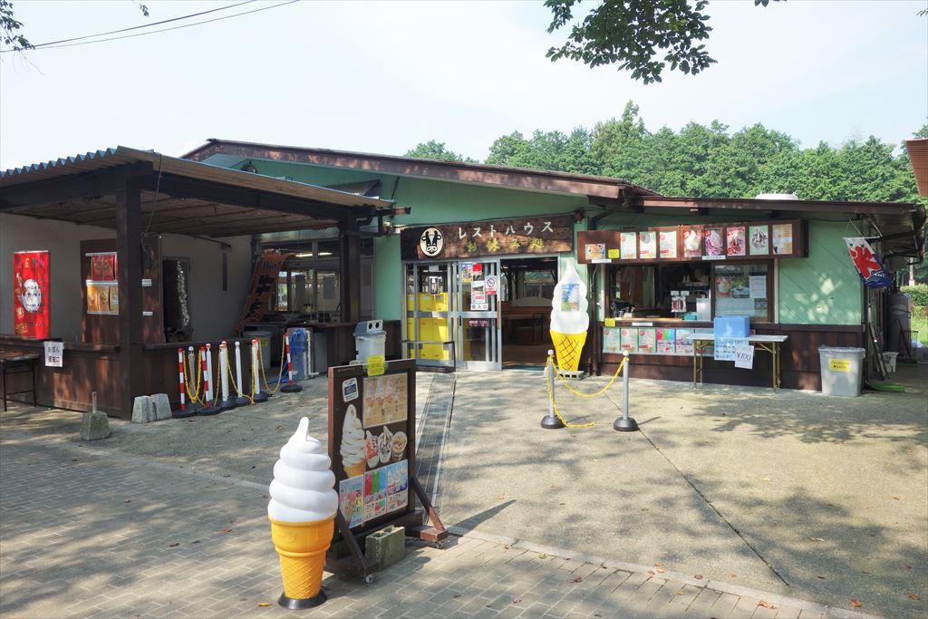 千本松牧場のレストハウス