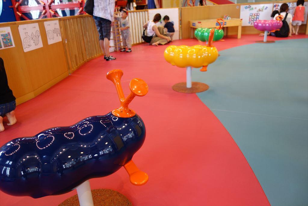トコトコ大田原「わくわくらんど」のスプリング遊具