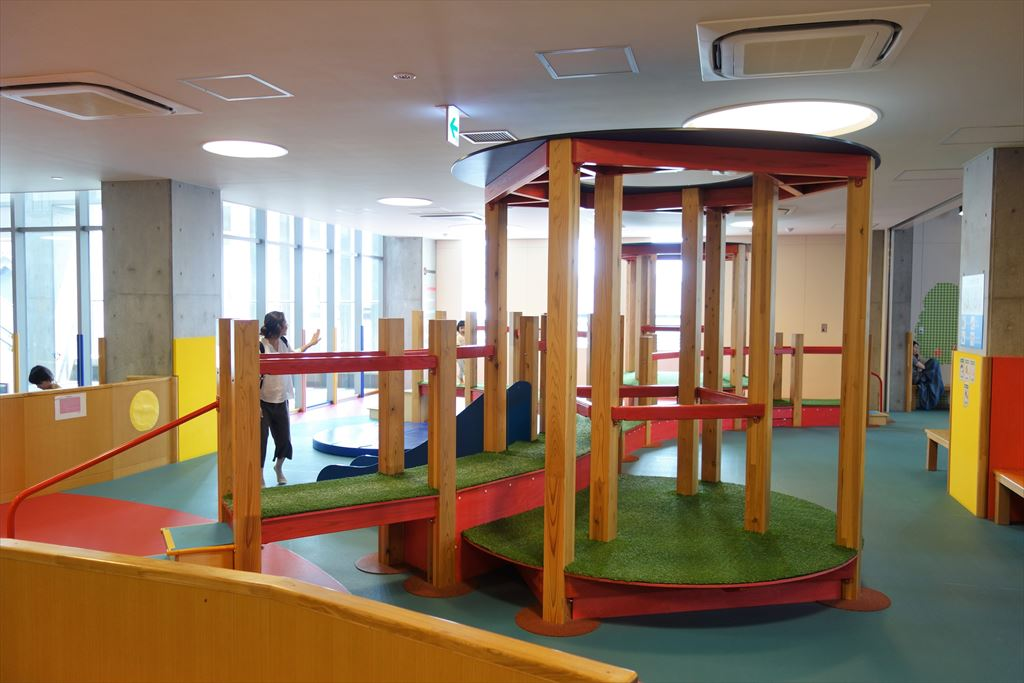 トコトコ大田原「わくわくらんど」の幼児向け遊具