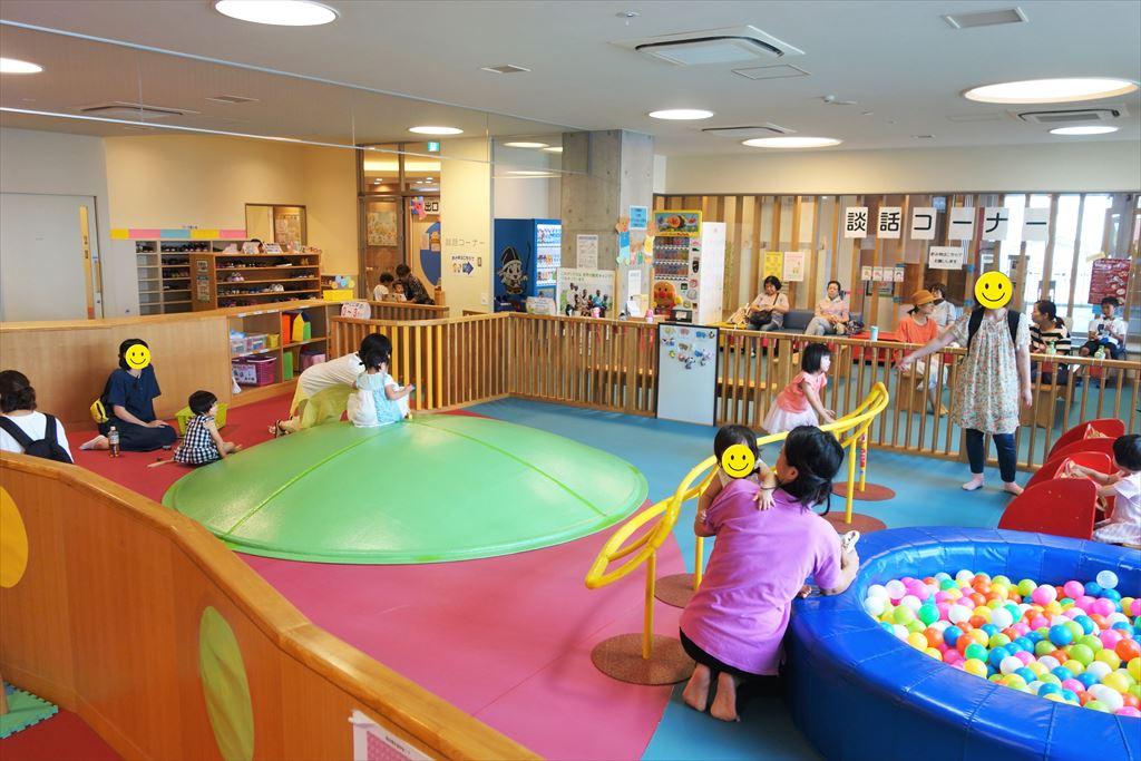トコトコ大田原「わくわくらんど」の幼児専用コーナー