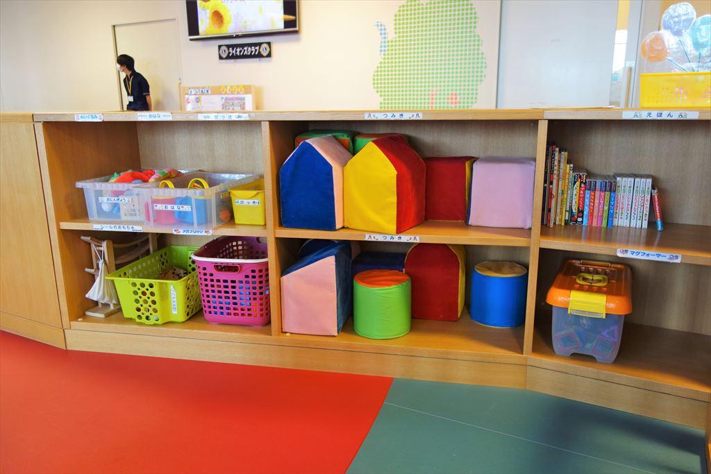 トコトコ大田原「わくわくらんど」幼児専用コーナーの遊具