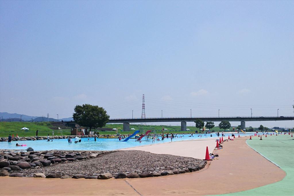 渡良瀬ウォーターパークのプール