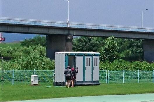 渡良瀬ウォーターパークのトイレ