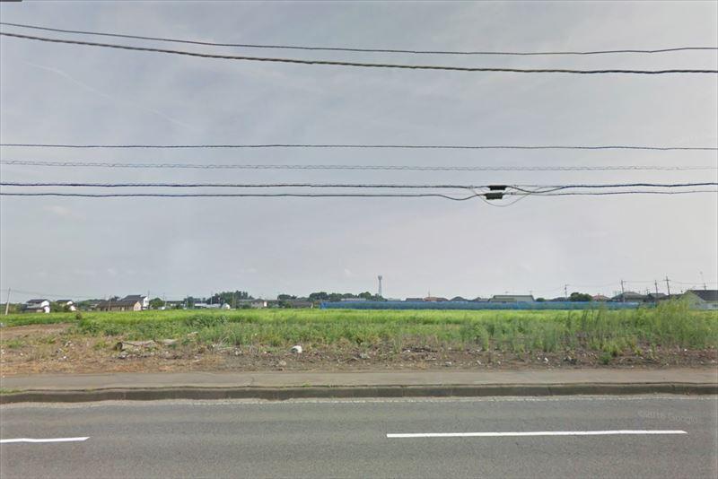 コストコ壬生店の候補地の写真