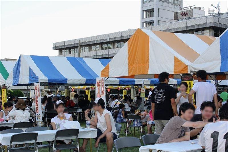 小山の日本一ビール祭り
