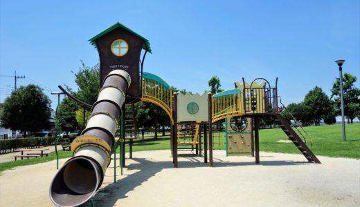【公園レポ】小山市「城南公園」の遊具を全部紹介!水遊びもできちゃいます