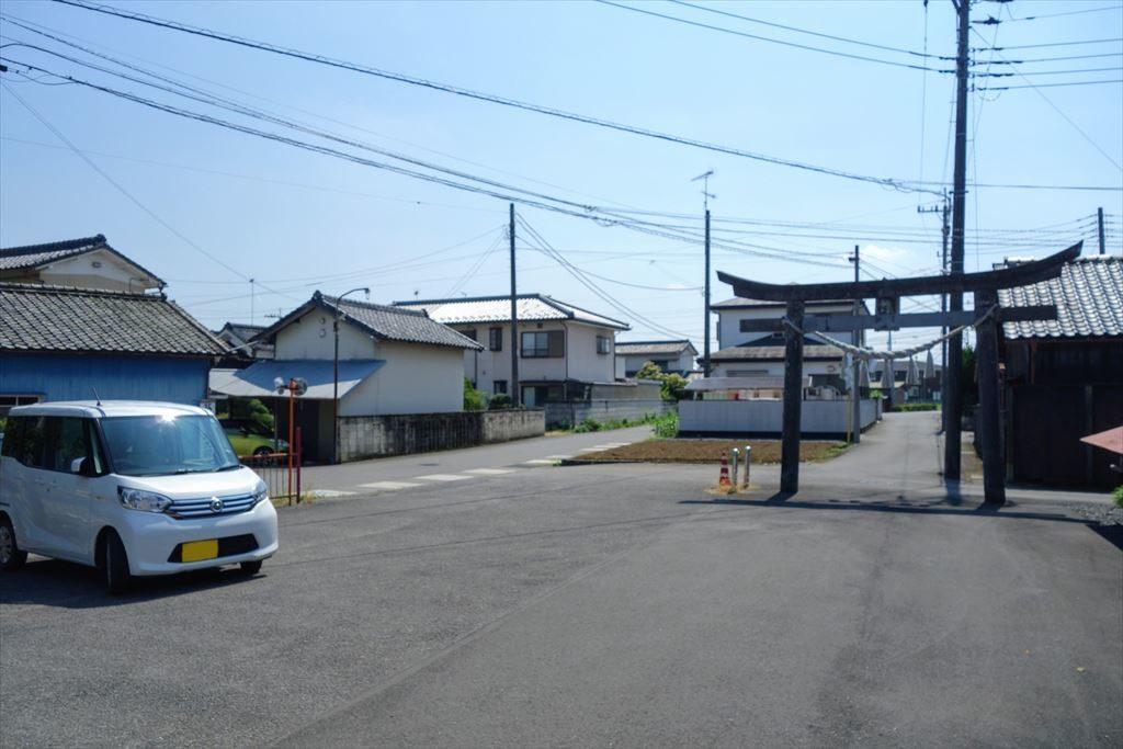 人丸神社の駐車場