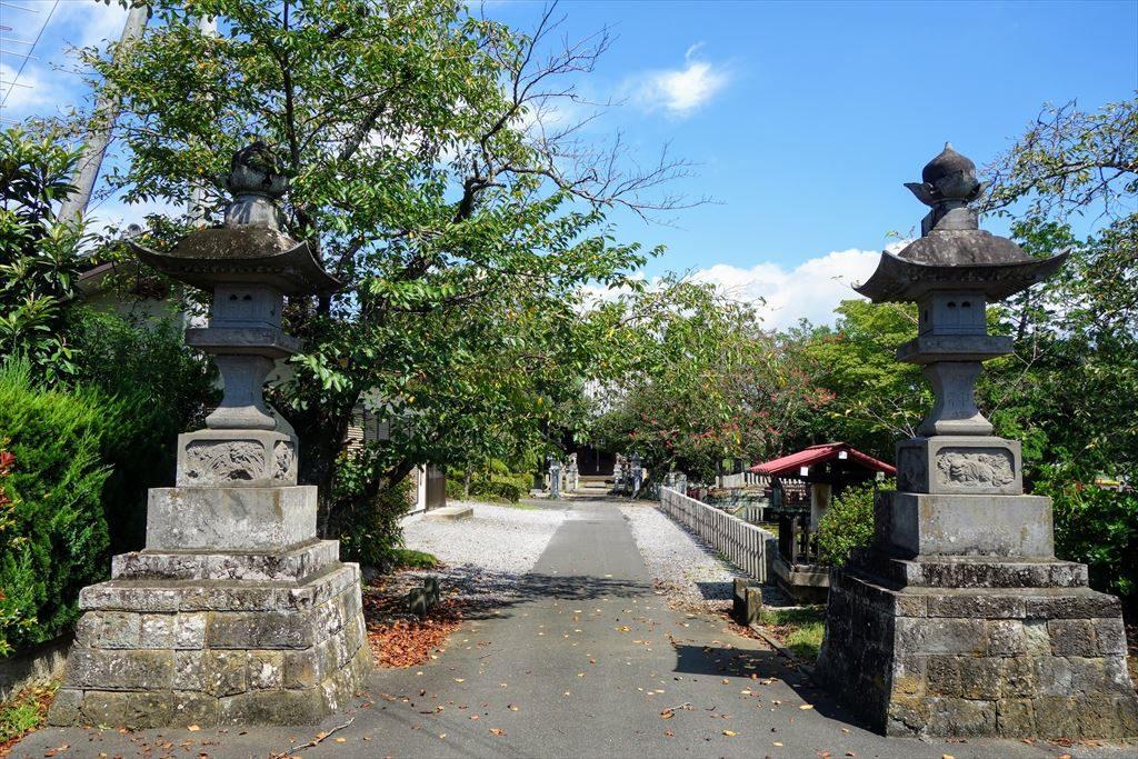 人丸神社の境内入口
