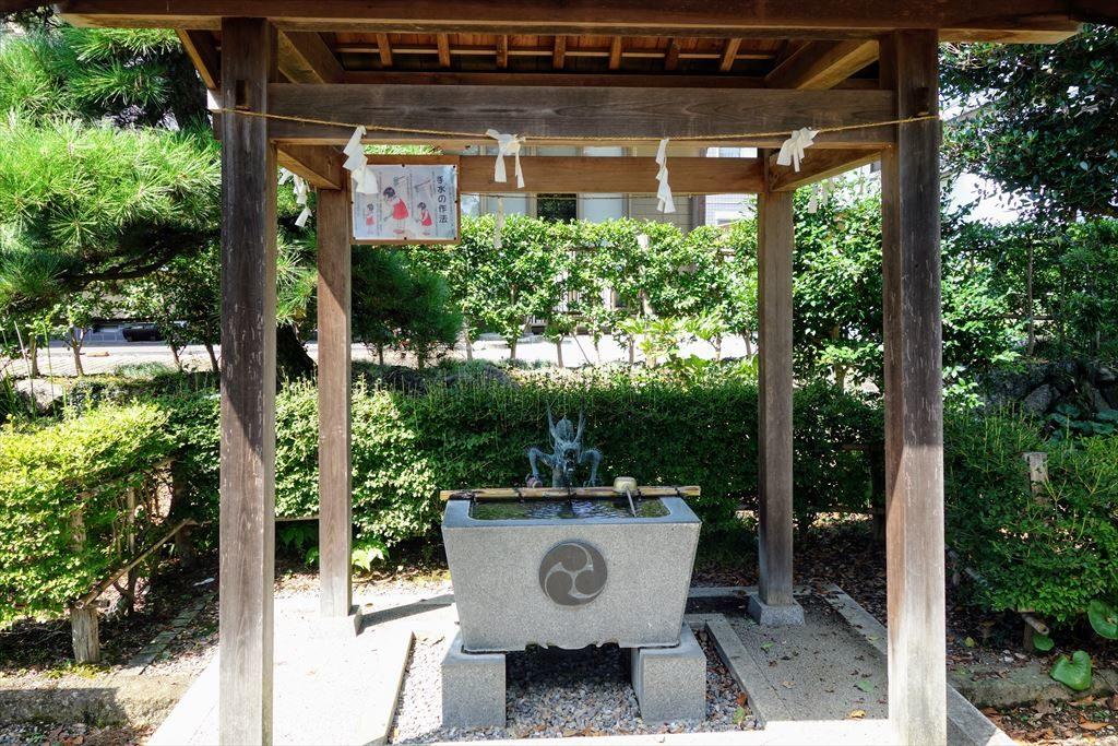 人丸神社の手水舎
