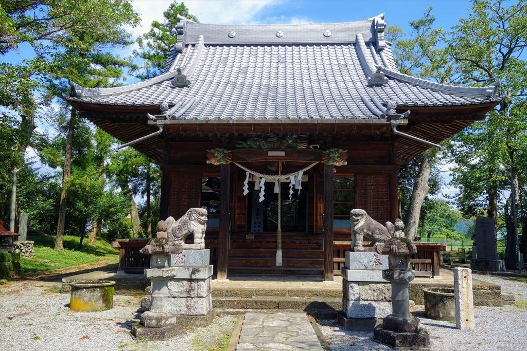 人丸神社の拝殿